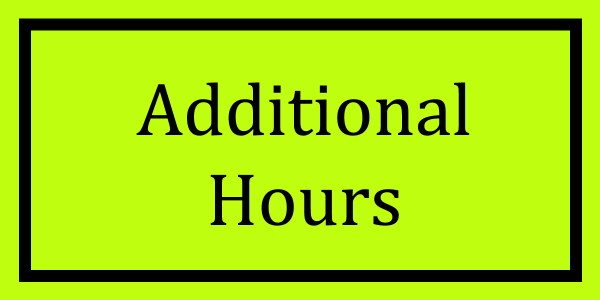 Additional Hours Logo