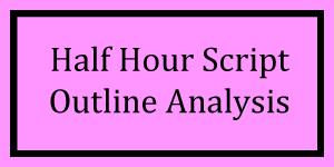 Half Hour Outline Analysis Logo