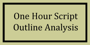 One Hour Outline Analysis Logo