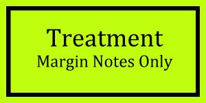 Treatment Margin Notes Logo