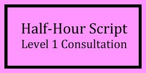 Half-Hour Script Level 1 Logo