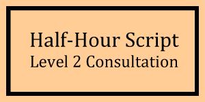 Half-Hour Script Level 2 Logo