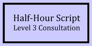 Half-Hour Script Level 3 Logo