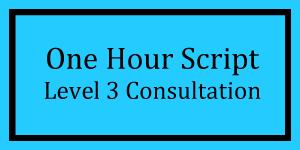 One Hour Script Level 3 Logo
